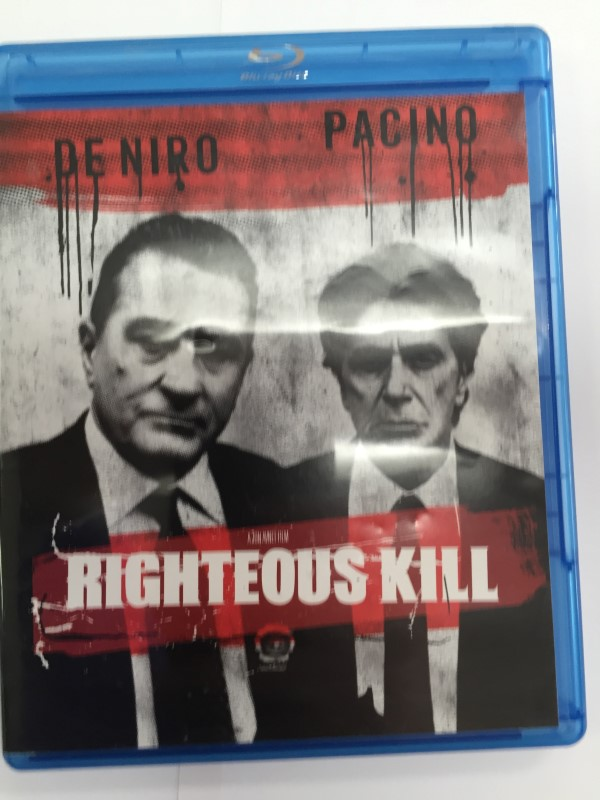 RIGHTEOUS KILL BLUE-RAY