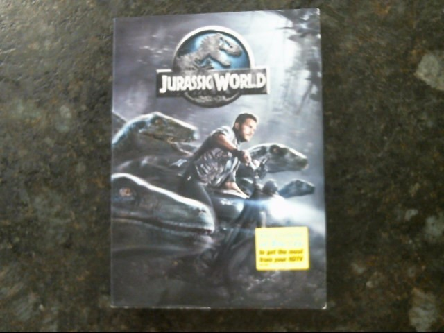 Jurassic World (DVD, 2015) w/ Case Authentic