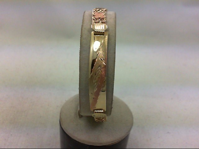 Gold Bracelet 10K Tri-color Gold 9g