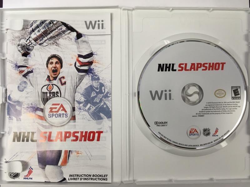 NHL Slapshot - (Nintendo Wii, 2010)
