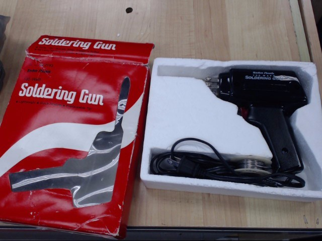 RADIO SHACK Soldering Gun/Iron 100 WATT SOLDERING GUN 64-2193