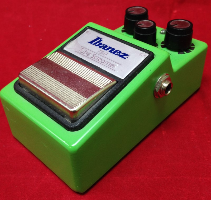 Ibanez TS9 Tube Screamer Overdrive Guitar Effects Pedal