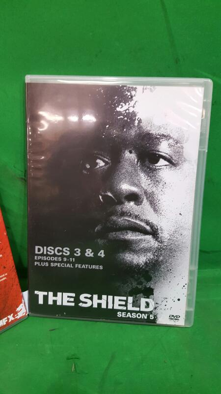 The Shield - Complete Fifth Season (DVD, 2007, 4-Disc Set)