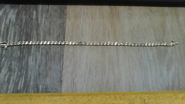 Gold-Diamond Bracelet 25 Diamonds .25 Carat T.W. 10K Yellow Gold 2.8dwt