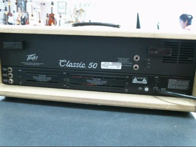 PEAVEY Electric Guitar Amp CLASSIC 50