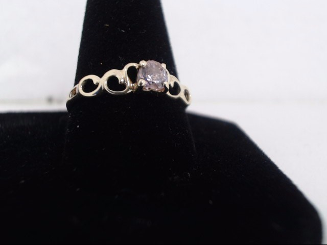 Lady's Gold Ring 10K Yellow Gold 1g