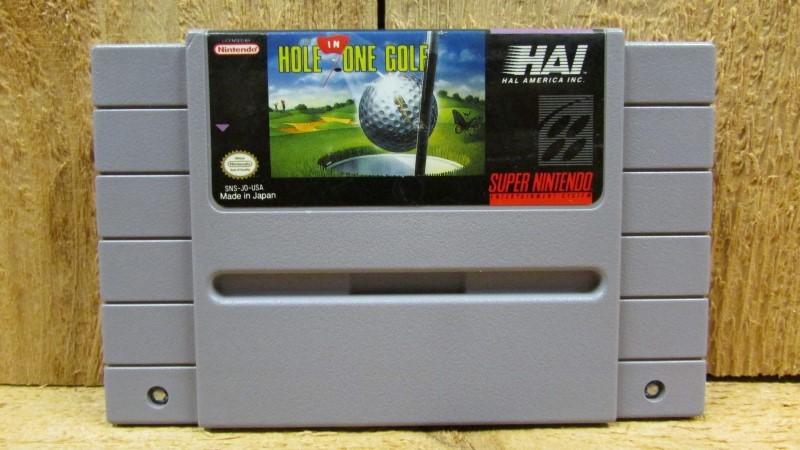 NINTENDO Nintendo SNES Game HOLE IN ONE GOLF