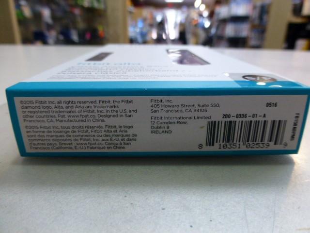 Fitbit Alta Classic Accessory Band - Plum - Size Small/Petit