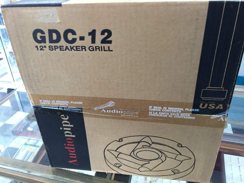 """AUDIO PIPE 12"""" SPEAKER GRILL COVERS GDC-12"""