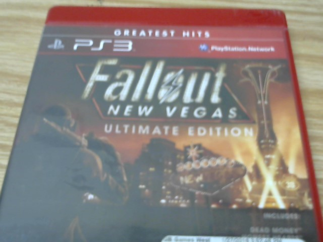 SONY Sony PlayStation 3 Game FALLOUT NEW VEGAS ULTIMATE EDITION