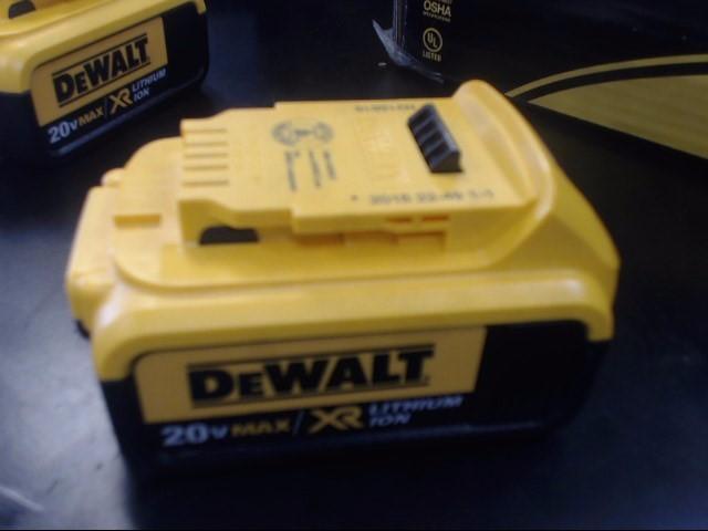 BATTERY: DEWALT MODEL DCB204