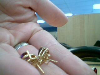 Gold Earrings 10K Yellow Gold 2.04g