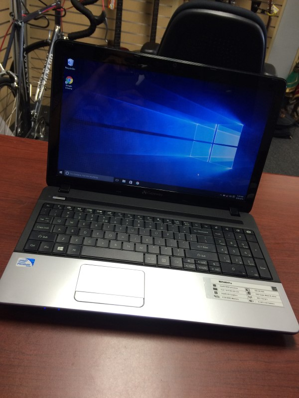 GATEWAY NE56R41U Win 10 4GB RAM 500GB HDD PENTIUM @ 2.2GHZ WIFI NOT WORKING