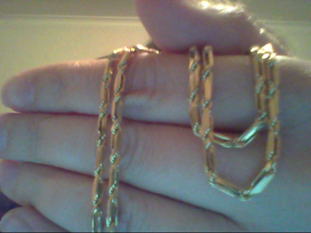 Gold Rope Chain 14K Yellow Gold 3.5g