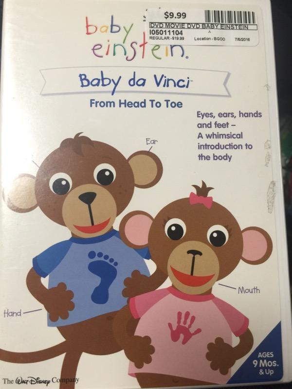 BABY EINSTEIN BABY DA VINCI FROM HEAD TO TOE