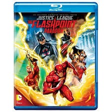 BLU-RAY MOVIE Blu-Ray JUSTICE LEAGUE THE FLASHPOINT PARADOX