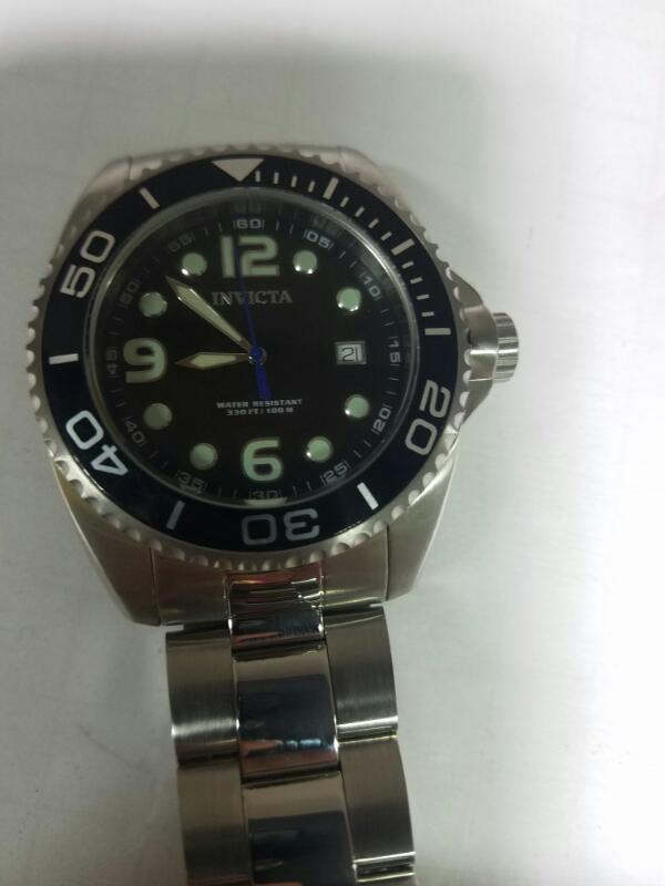INVICTA 0480 GOLD/SILVER WATCH PLATED   123.9KST SIL #6 W