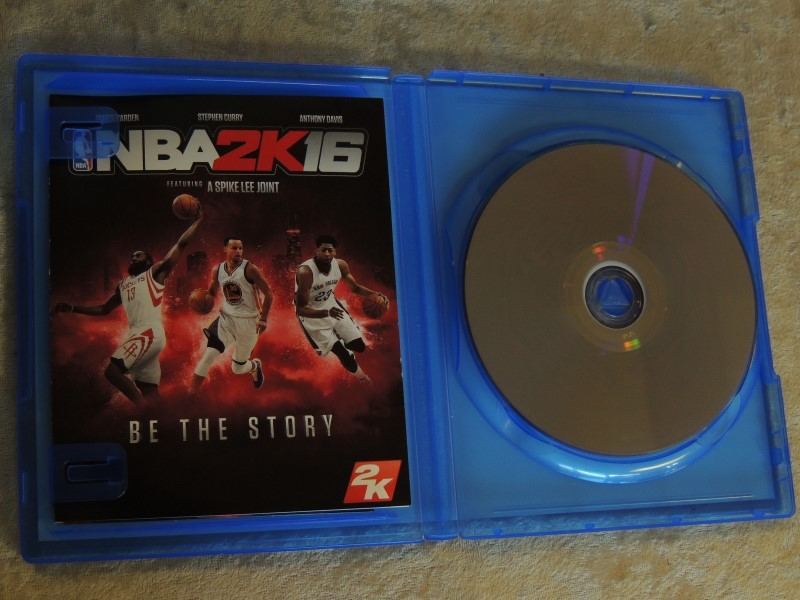 NBA 2K16 PS4 (Sony PlayStation 4, 2015) Used Great Condition