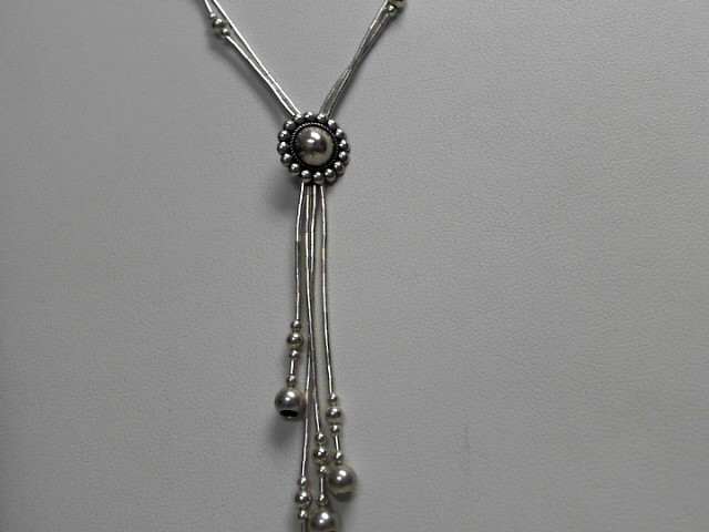 Sterling Silver Dangle Link Chain 8.2g