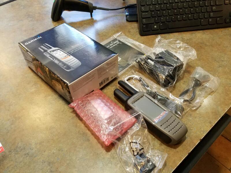 GARMIN RINO 650 IN ORIGINAL BOX - UNUSED