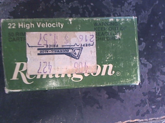 REMINGTON FIREARMS & AMMUNITION Ammunition 22 SHORT
