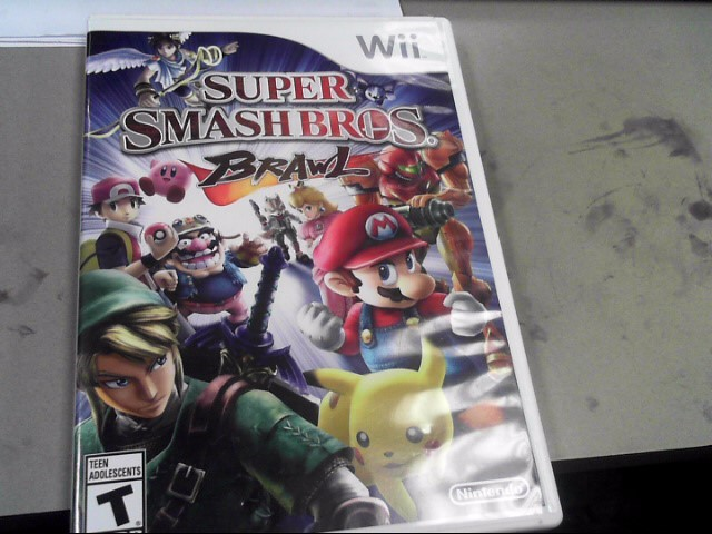NINTENDO Nintendo Wii Game SUPER SMASH BROS BRAWL