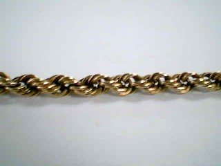 "18"" Gold Rope Chain 14K Yellow Gold 16.9g"