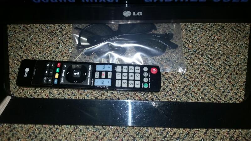LG 55LM6200 FLAT PANEL TELEVISION, 1080P, LED-LCD, 3D, SMART TV