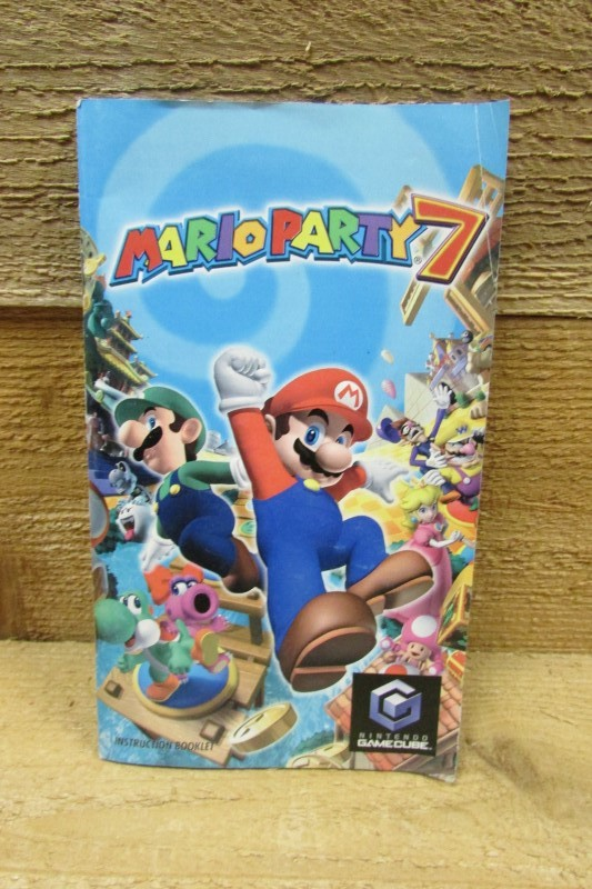 NINTENDO Guide/Material MARIO PARTY 7 GAMECUBE - INSTRUCTIONS ONLY