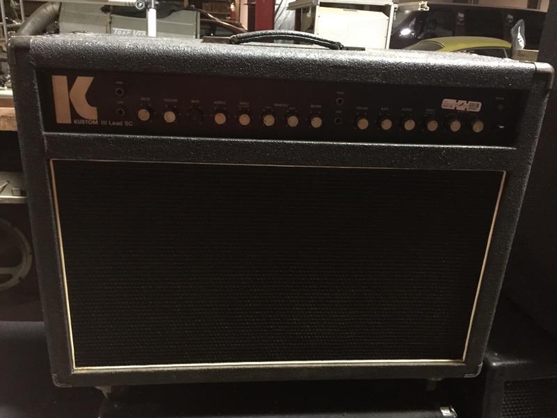 KUSTOM III LEAD SC GUITAR AMP S/K188100
