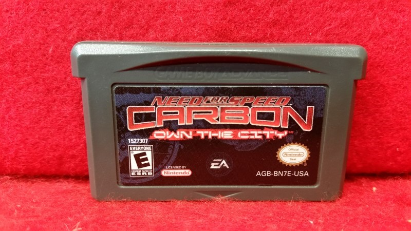 Need for Speed: Carbon: Own the City (Nintendo Game Boy Advance, 2006) GBA