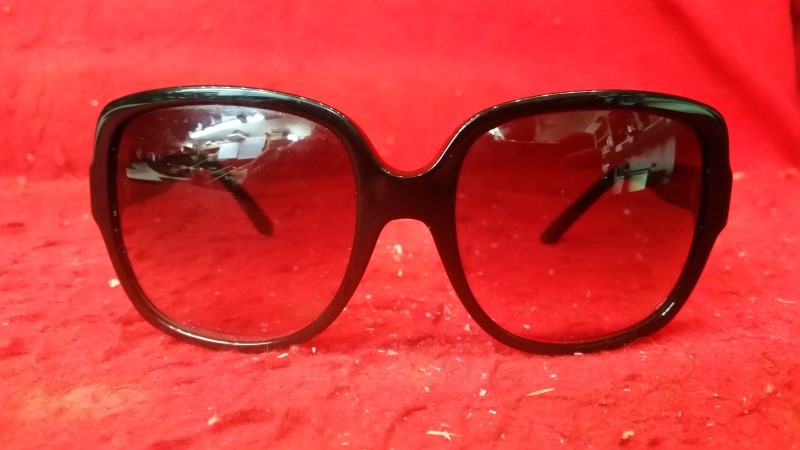 Christian Dior Ladies Sunglasses - Black Frame