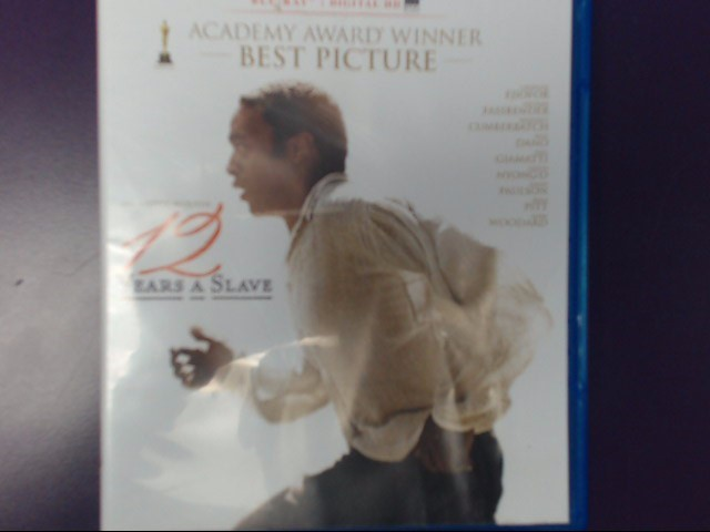 MOVIE BLU-RAY: 12 YEARS A SLAVE