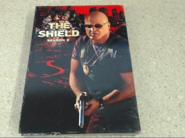 THE SHIELD SEASON 3 - 4 DISC DVD SET
