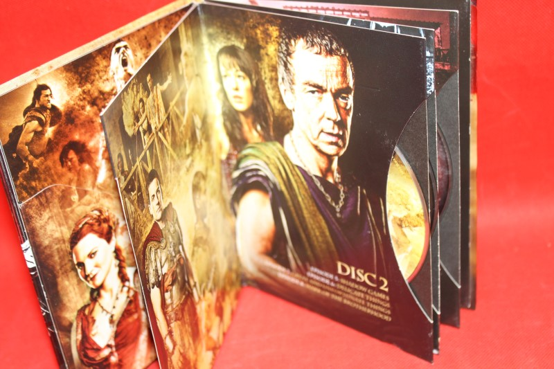 Spartacus: Blood and Sand - First Season (DVD, 2010, 4-Disc Set)