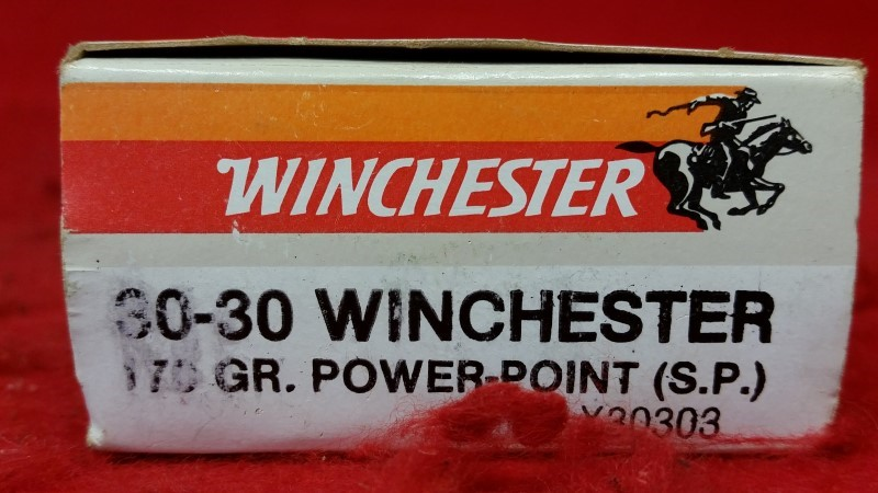 Winchester 30-30 170gr Power Point - 20 Rounds - X30303
