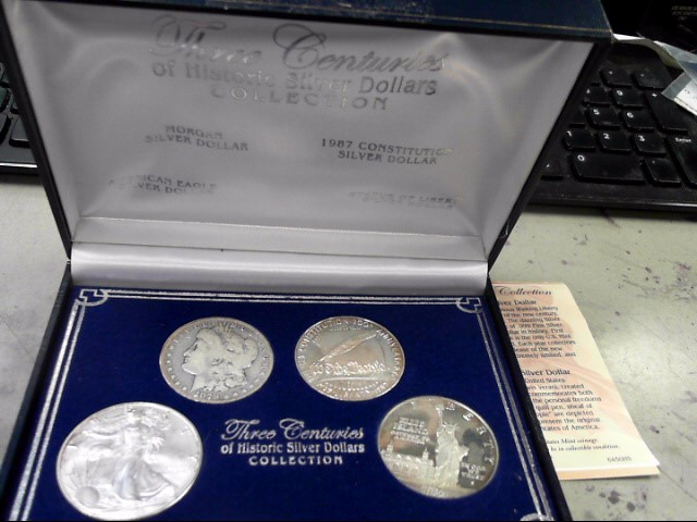 UNITED STATES Silver Coin THREE CENTURIES OF SILVER DOLLARS