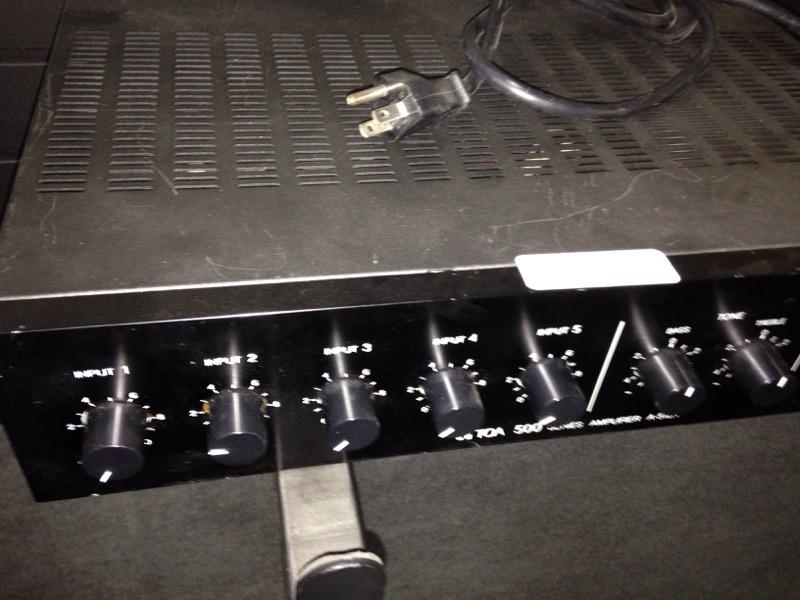 TOA TOA Electronic Instrument A-512A