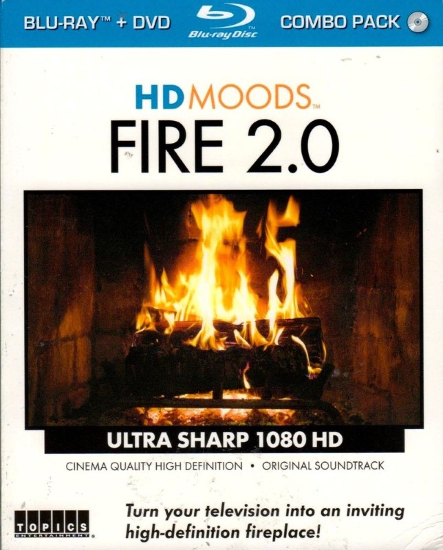 BLU-RAY MOVIE Blu-Ray HD MOODS FIRE 2.0
