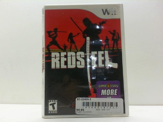 NINTENDO Nintendo Wii Game REDSTEEL