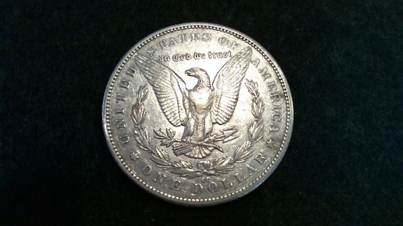 UNITED STATES Silver Coin 1890 MORGAN SILVER DOLLAR