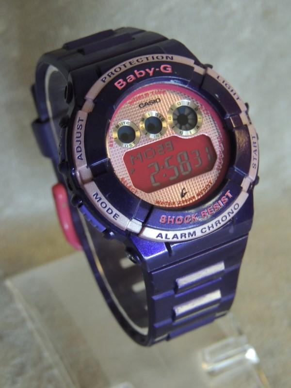Casio BABY G Shock 3254 Ladies Purple Pink Watch