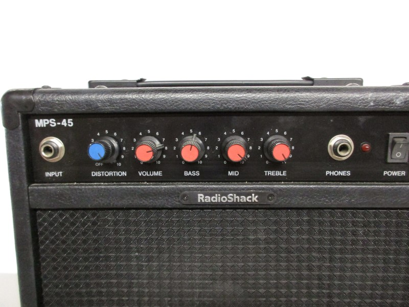 RADIO SHACK MPS-45 GUITAR PRACTICE COMBO AMP