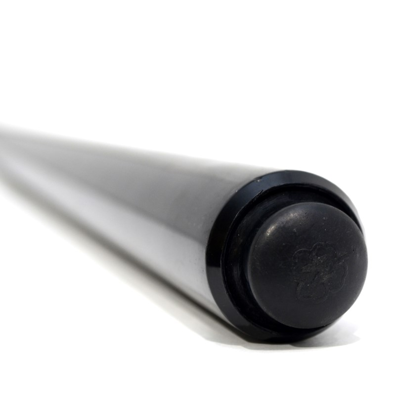 McDermott GS Series Solid Black Pool Cue 3/8x10 joint Maple Shaft>