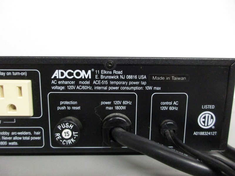 ADCOM ACE-515 AC POWER ENHANCER