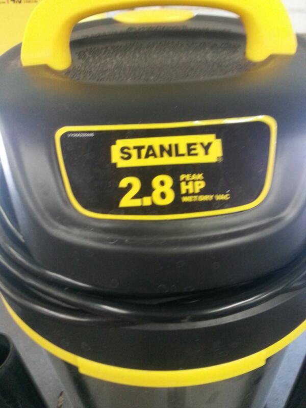 STANLEY Vacuum Cleaner 2.8HP