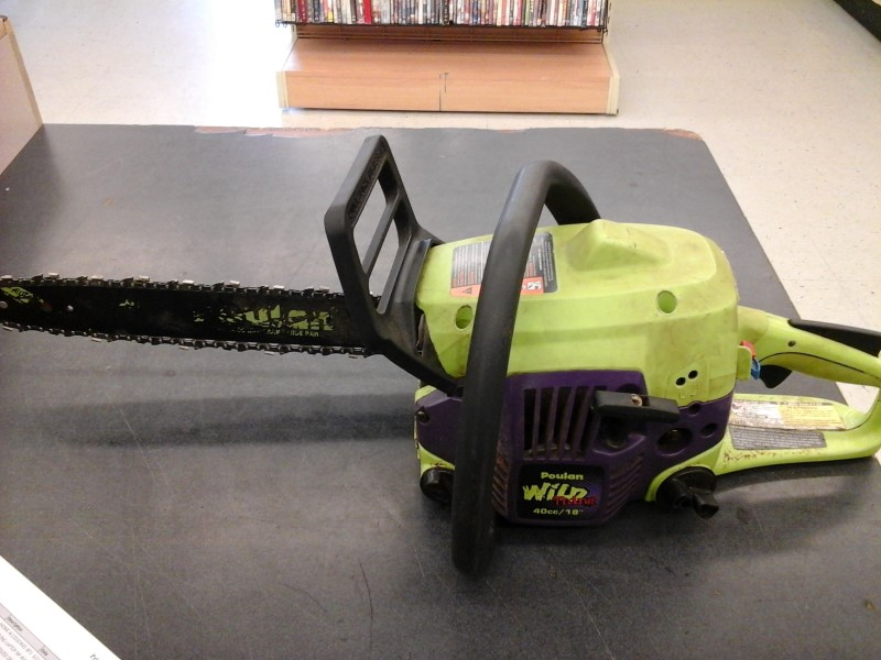 POULAN Chainsaw WILD THING P4018WM