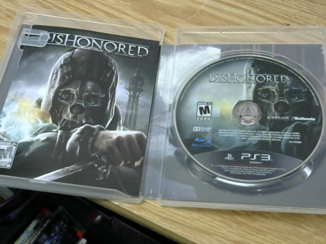 SONY Sony PlayStation 3 Game DISHONORED