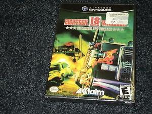 Nintendo GameCube Game EIGHTEEN WHEELER AMERICAN PRO TRUCKER