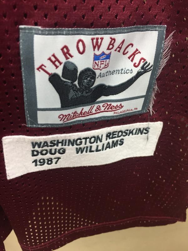 MITCHELL & NESS Sports Memorabilia DOUG WILLIAMS THROWBACK 1987